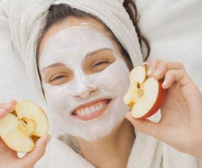 Домашние маски из яблока