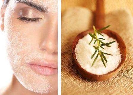 Применение морской соли для улучшения кожи