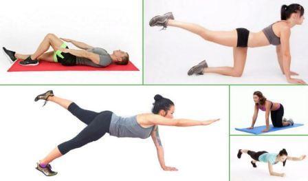 Домашние упражнения от целлюлита