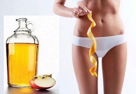 Яблочный уксус от целлюлита, рецепты и применение