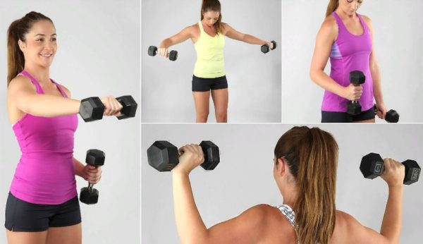 Как убрать целлюлит на руках, упражнения и правильное питание