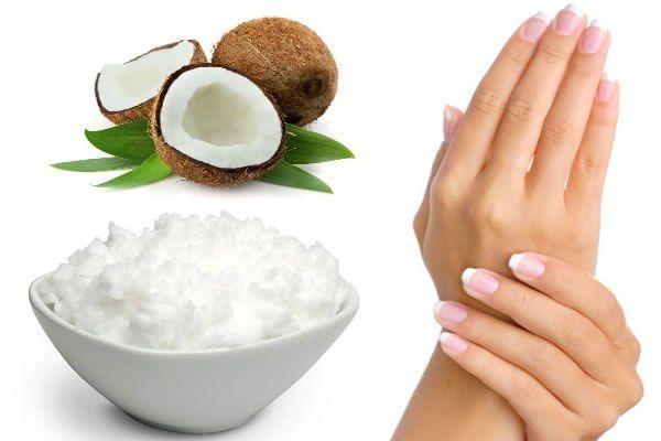 масло для ногтей кокосовое
